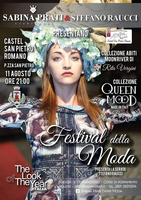 Festival della moda The Look of the Year Castel San Pietro Romano