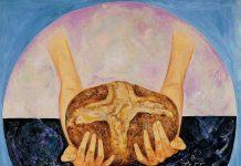 pittore Guadagnuolo ricorda Kofi Annan opera