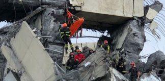 Genova ponte Morandi crollato