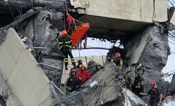 Genoa ponte Morandi crollato