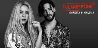 Shakira Maluma Clandestino