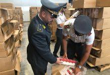 GdF Genova, sequestrate otto tonnellate di T.L.E. di contrabbando