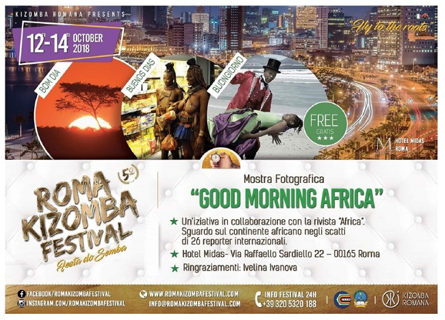 Good morning Africa mostra a Roma