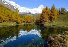 lago bleu Valle d'Aosta