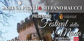 locandina Ceccano festival moda