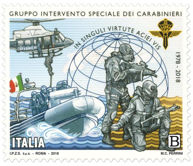 francobollo carabinieri