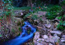 una piccola sorgente nei pressi del borgo di Stifone