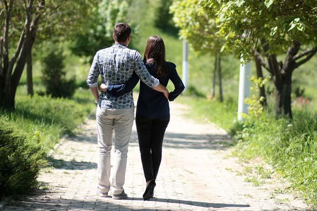 camminare coppia