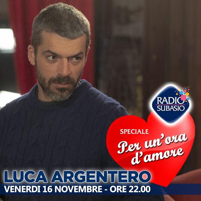 Luca Argentero Radio Subasio
