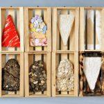 ottava catrame materiale legno gesso asfalto catrame pietre acrilico