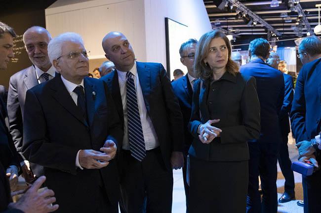 presidente Mattarella AD Ericsson Italia