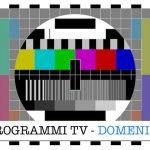 programmi tv domenica
