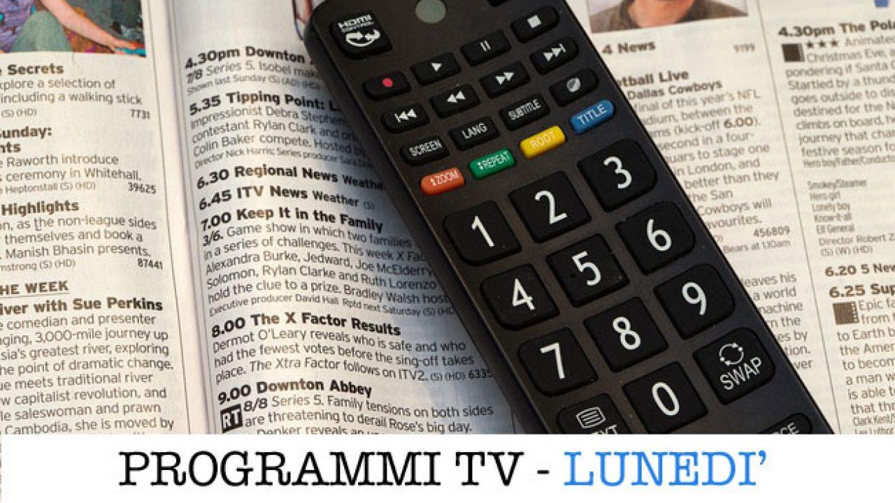 Programmi Tv Di Cucina Americani i programmi in tv oggi, lunedì 6 aprile 2020