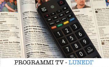programmi tv del lunedì