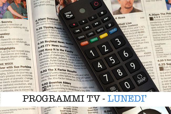 I programmi in tv oggi, 16 marzo 2020: speciale Coronavirus e film