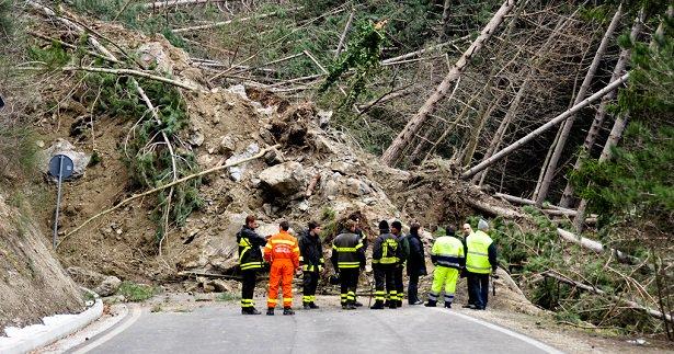 rischio idrogeologico Italia