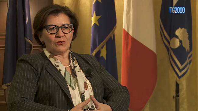 Ministro Trenta tv2000