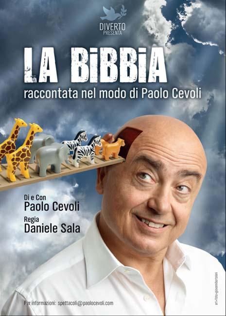 Paolo Cevoli locandina la bibbia