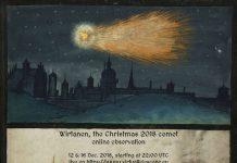 xmas2018 comet poster