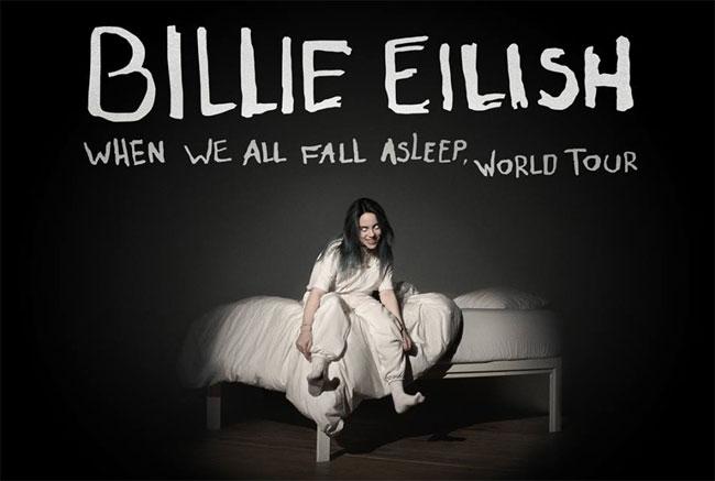billie eilish cover tour