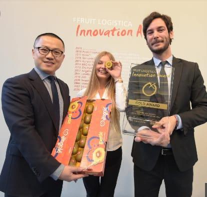 jingold premiazione Berlino fruit logistica