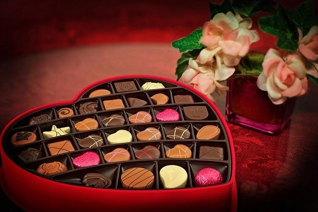 scatola cioccolatini San Valentino