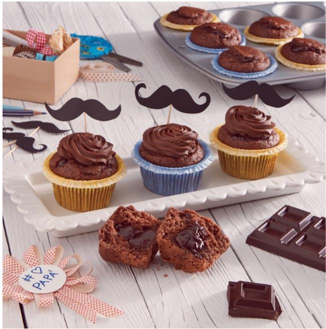 festa papa muffin