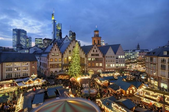 Francoforte weihnachtsmarkt