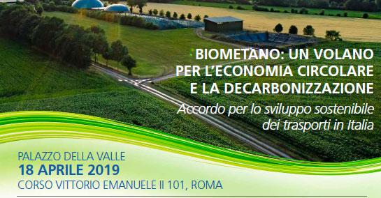 biometano 18 aprile 2019
