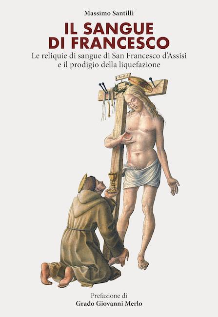copertina libro il sangue di Francesco Santilli