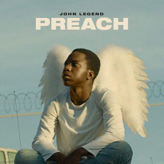 john legend preach cover singolo