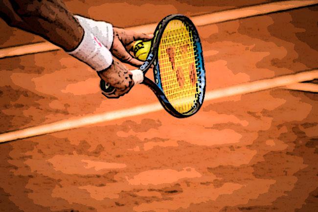 tennis battuta