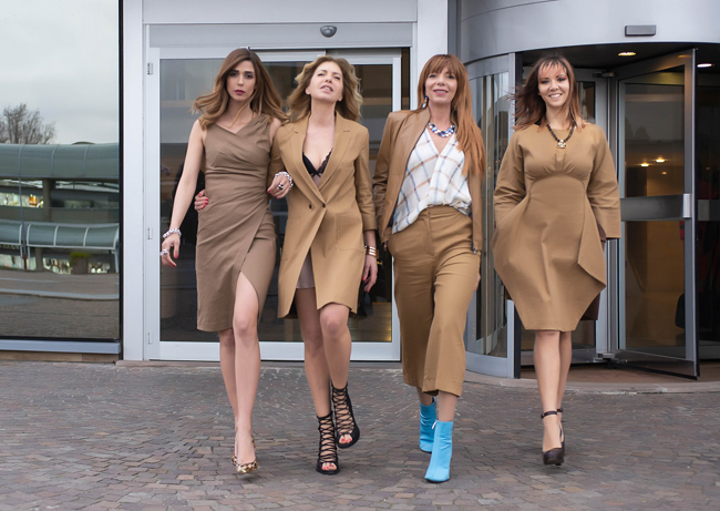 the fashion mob beige