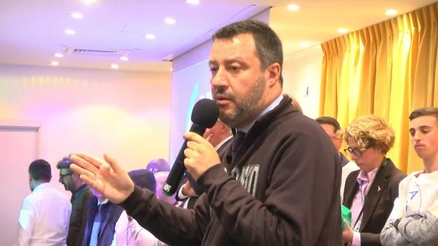 """Salvini a Genova: sul Coronavirus """"Qualcuno ha sbagliato qualcosa"""""""