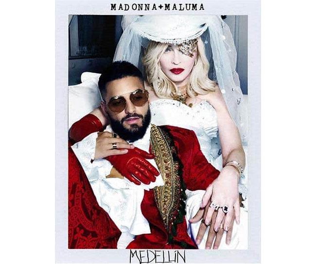 Madonna Maluma Medellin Top20 Maggio 2019 internazionale