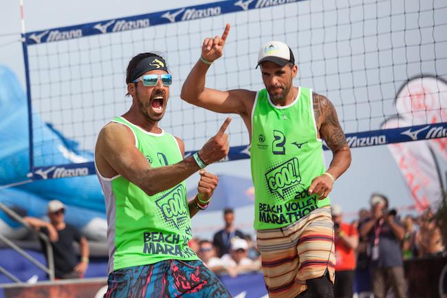 Mizuno Beach Volley Marathon, Marques e  Zanotta vincono la 2×2 Gold