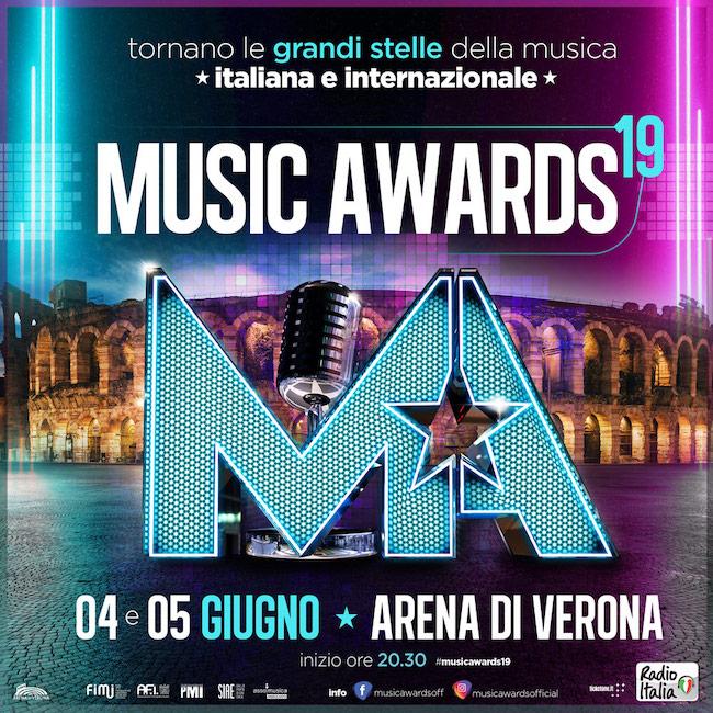 Music Awards 2019 locandina