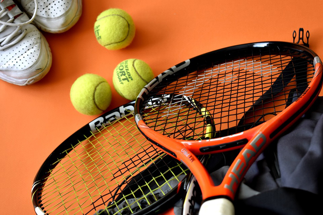 racchetta palline tennis