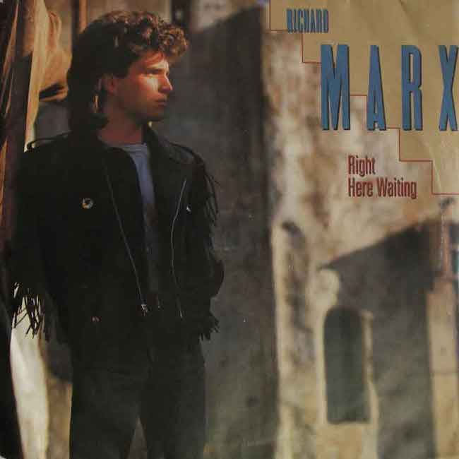 Right Here Waiting - Richard Marx cover singolo