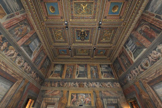 sala serpieri palazzo della valle Roma
