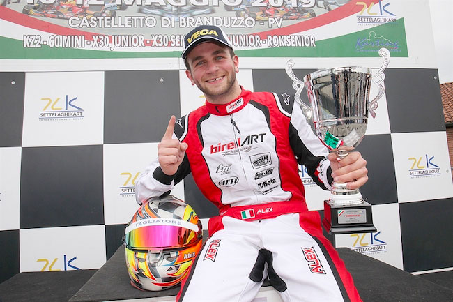 Alex Irlando ACI Karting