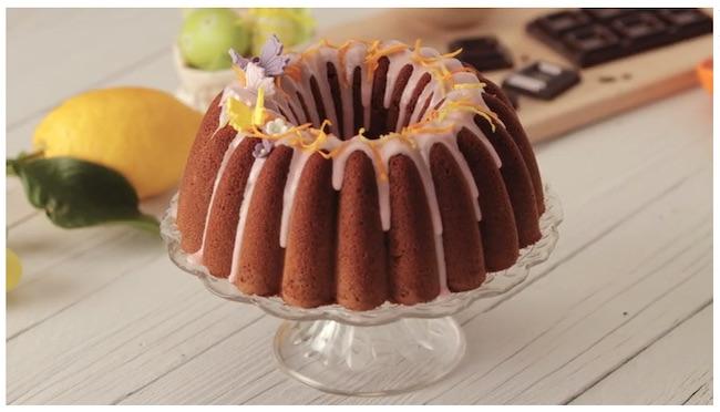 la ciambella bundt cake