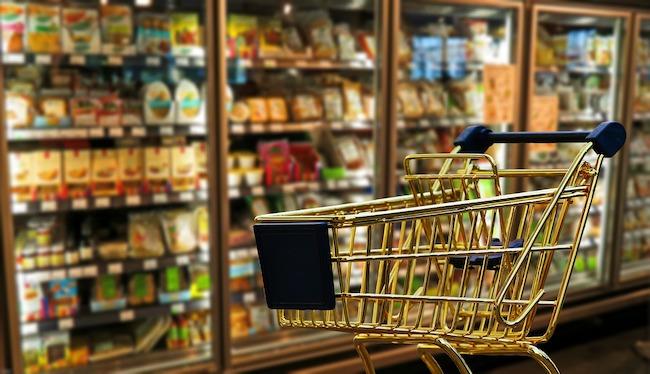 supermercato carrello spesa