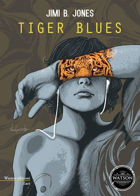 tiger blues copertina