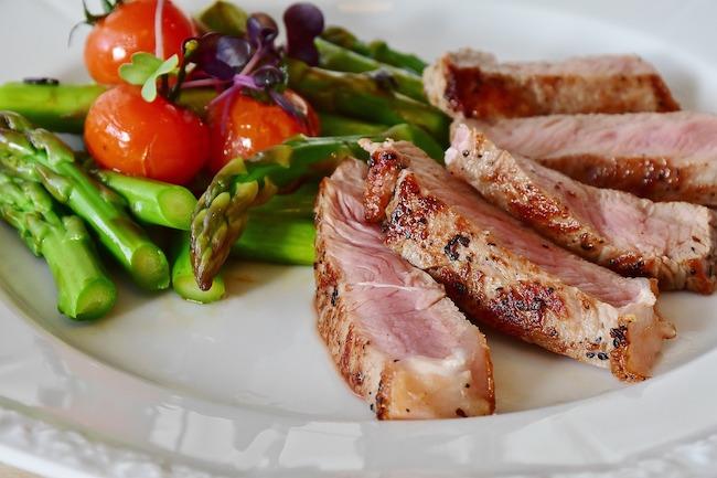 asparagi carne vitello