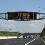 distanza sicurezza autostrada traffico