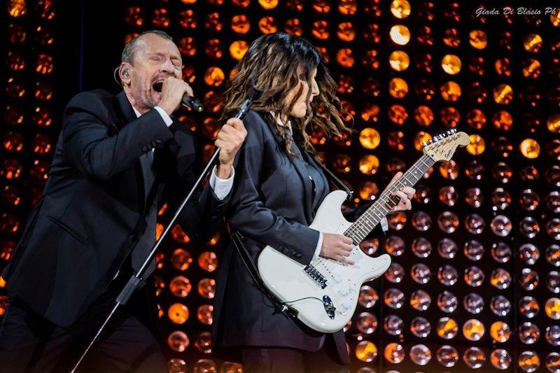 Pausini e Antonacci live a Pescara 2019
