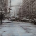 snow at New York 2014 100x150