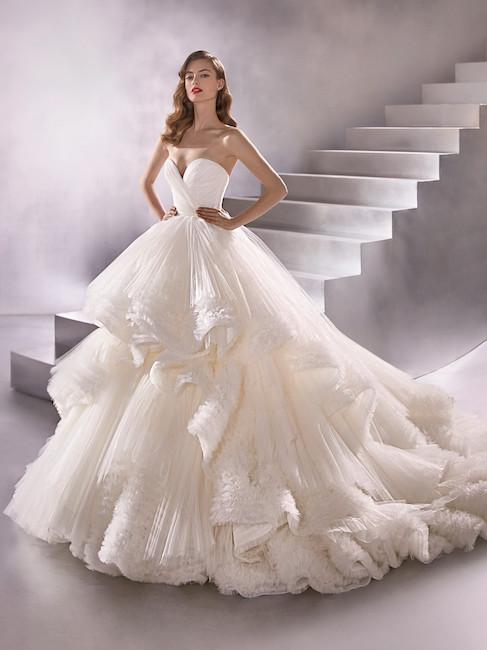 abito sposa bianco