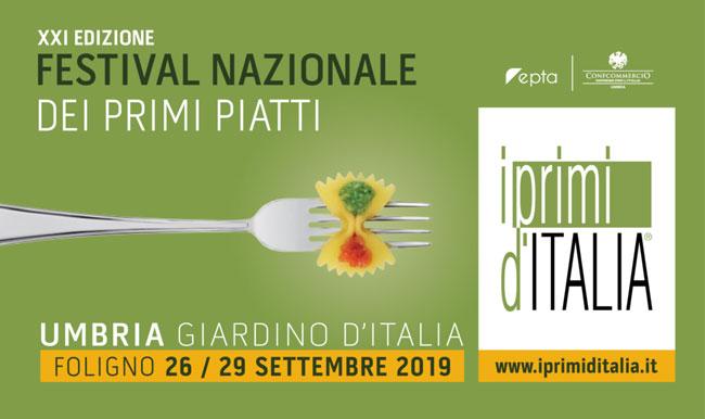 festival nazionale primi piatti Foligno 2019